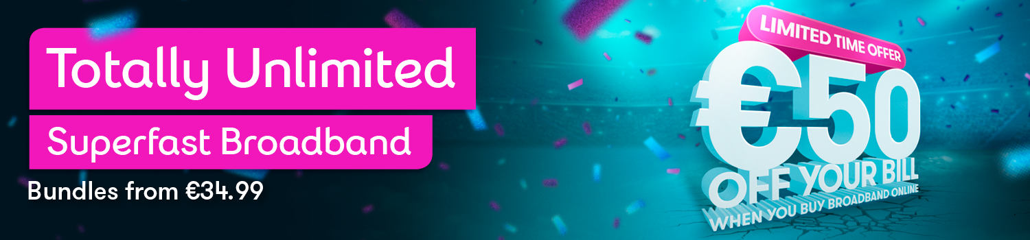 March Offer - Switch to Totally Unlimited Superfast Broadband