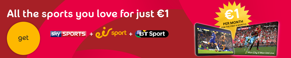 All the sports you love for just 1 euro