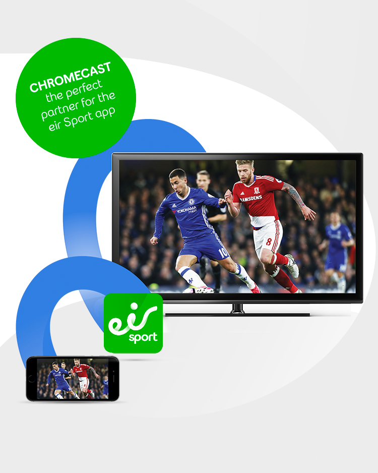 Sport app casting exclusively on eir
