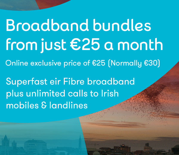 Get broadband and mobile for 25 euros per month