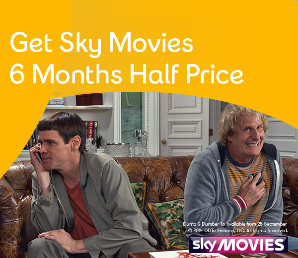 Get one month FREE Sky Sports and Sky Movies