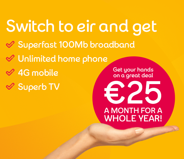Grab yourself an eir bundle