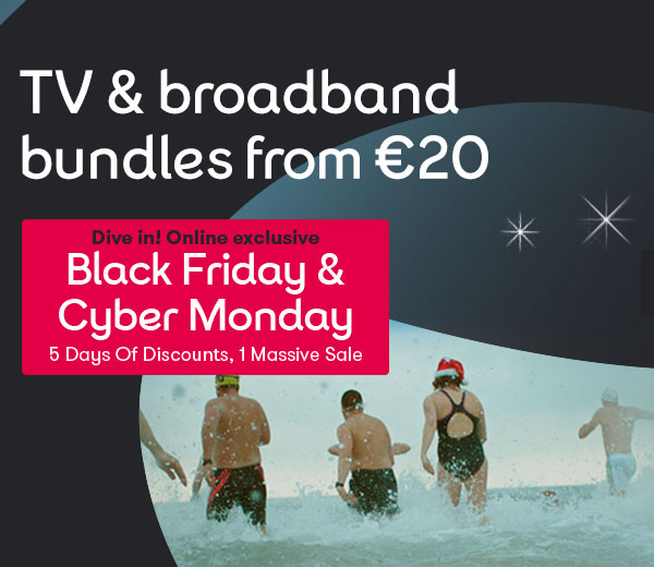 TV and Broaband Black Friday Offer